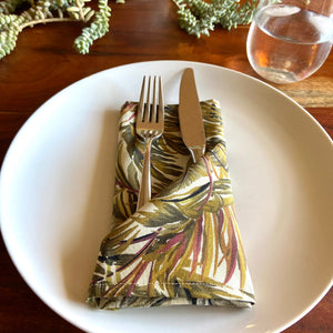 Palm Springs Print Cloth Dinner Napkins - 13in square