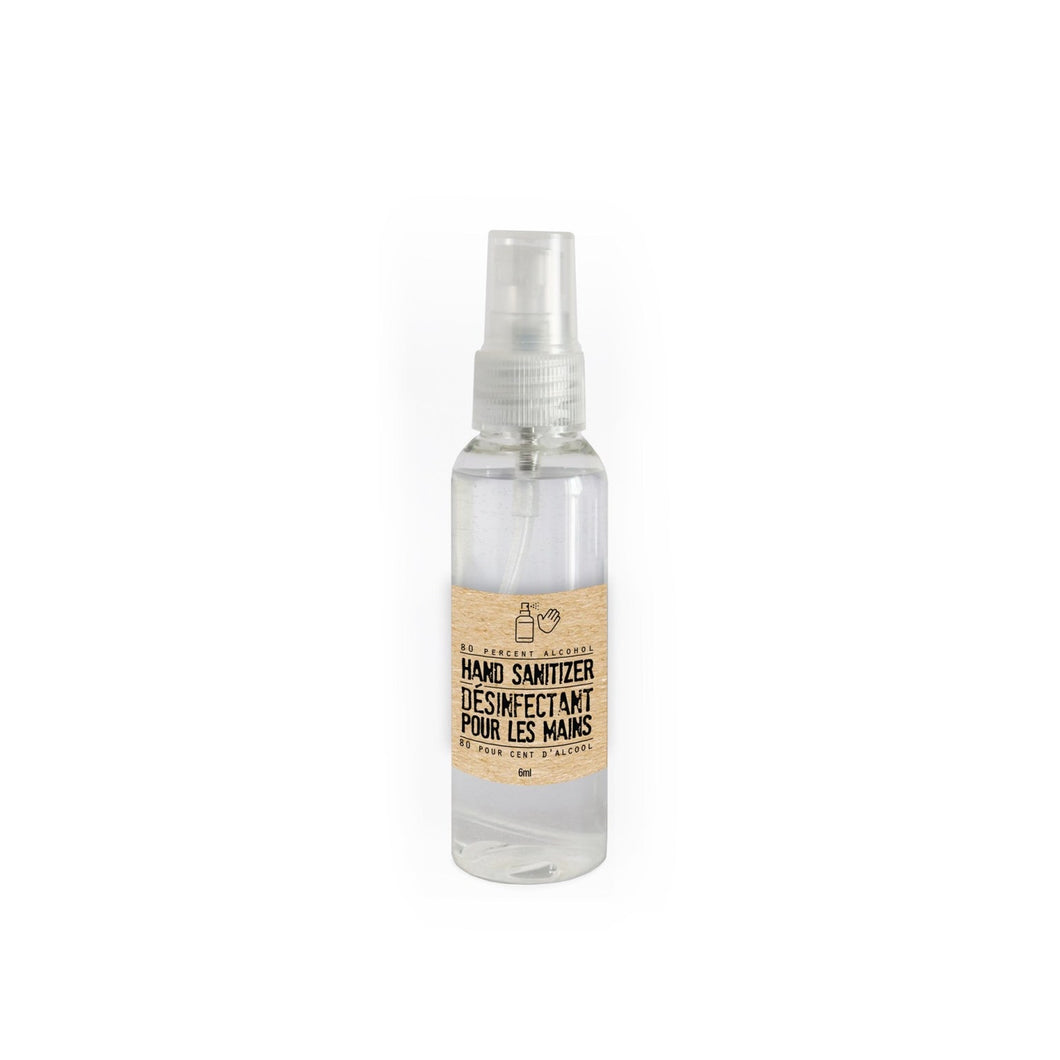 Man Soap Sanitizing Spray