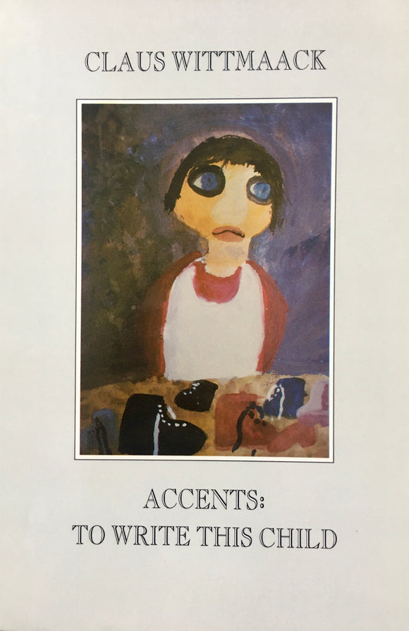 Accents: To Write This Child