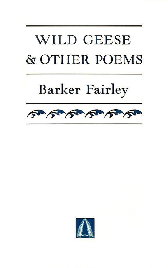 Wild Geese & Other Poems