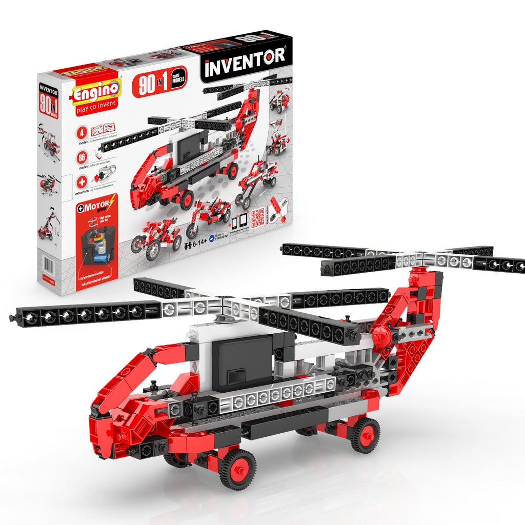 INVENTOR 90 MODELS MOTORIZED SET - MULTI MODELS