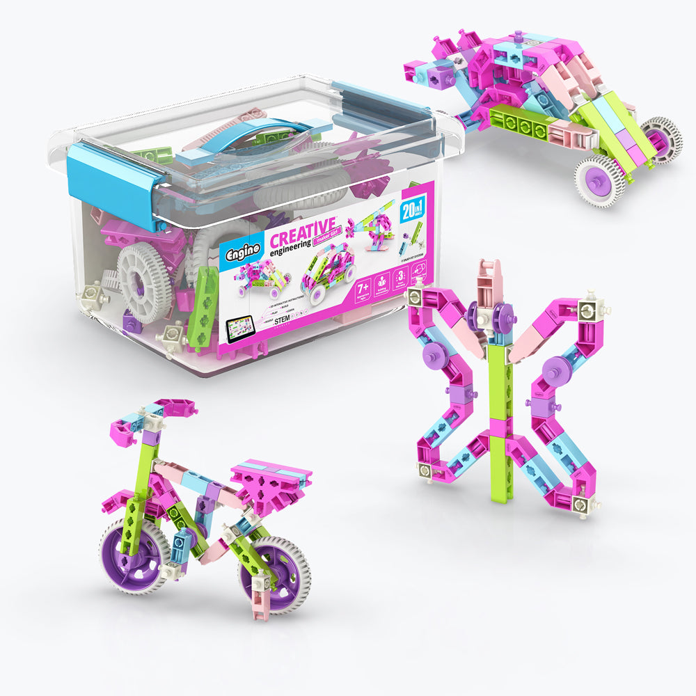 Creative Engineering Maker Girl 20 Models Set