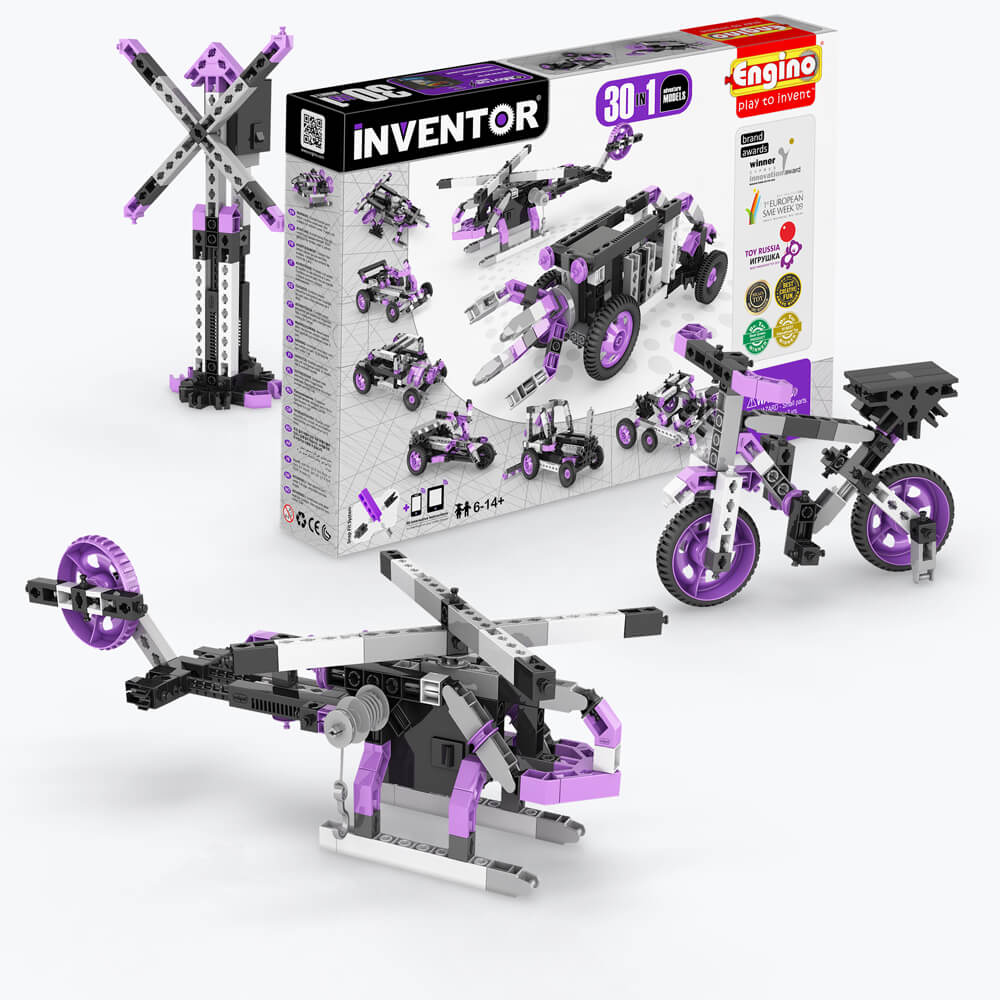 INVENTOR 30 MODELS MOTORIZED SET - ADVENTURE MODELS