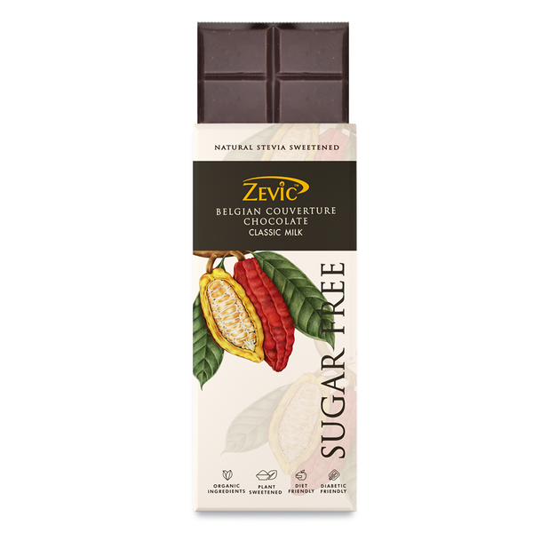 Zevic Belgian Couverture Chocolate- Classic Milk