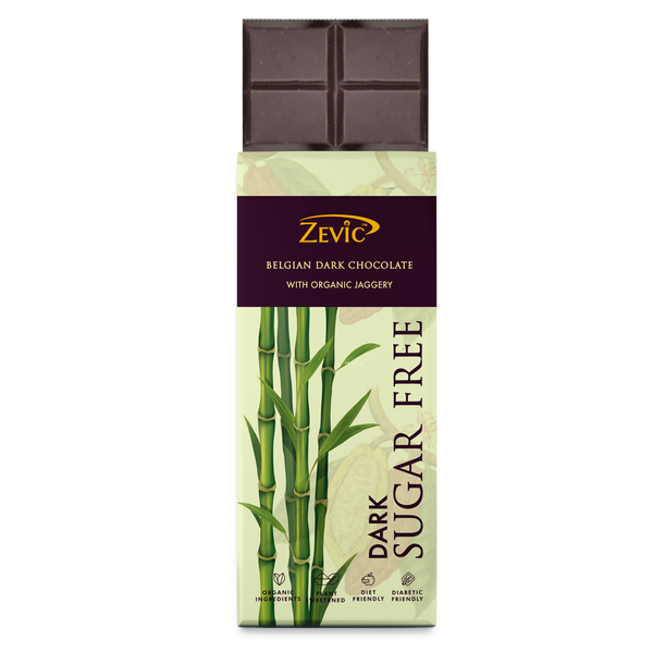 Zevic Belgian Dark Chocolate with Organic Jaggery