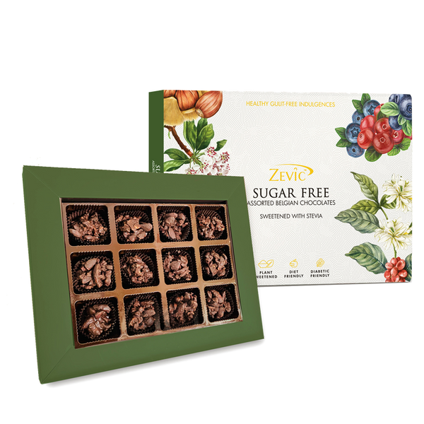 Zevic Keto Sugar Free Almond Rochers Gift Pack