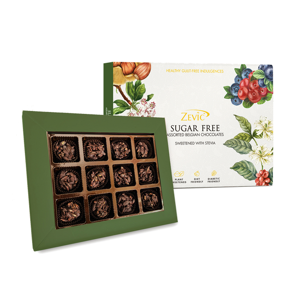 Zevic Sugar Free MultiSeeds Keto Chocolates Gift Pack