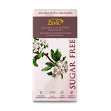 Zevic Belgian Couverture Chocolate with Organic Californian Almonds and Kashmiri Saffron