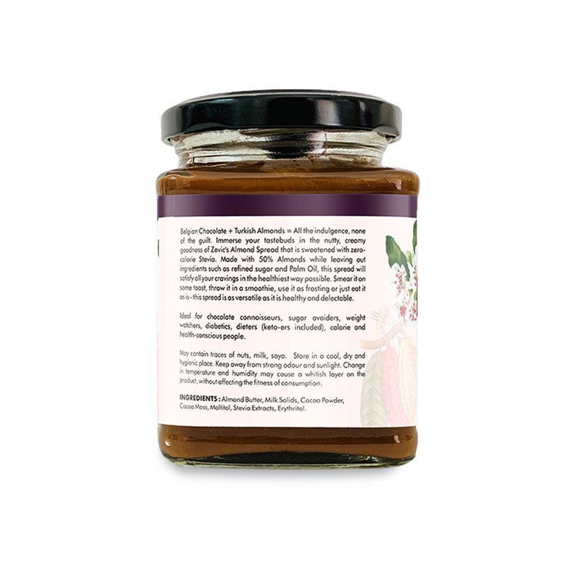 Zevic Almond Spread Sweetened with Stevia