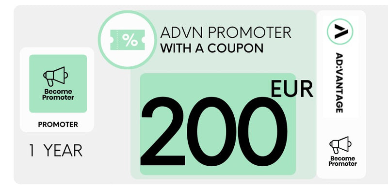 EUROPE - Promoter Gift Card Coupon, valued = €200
