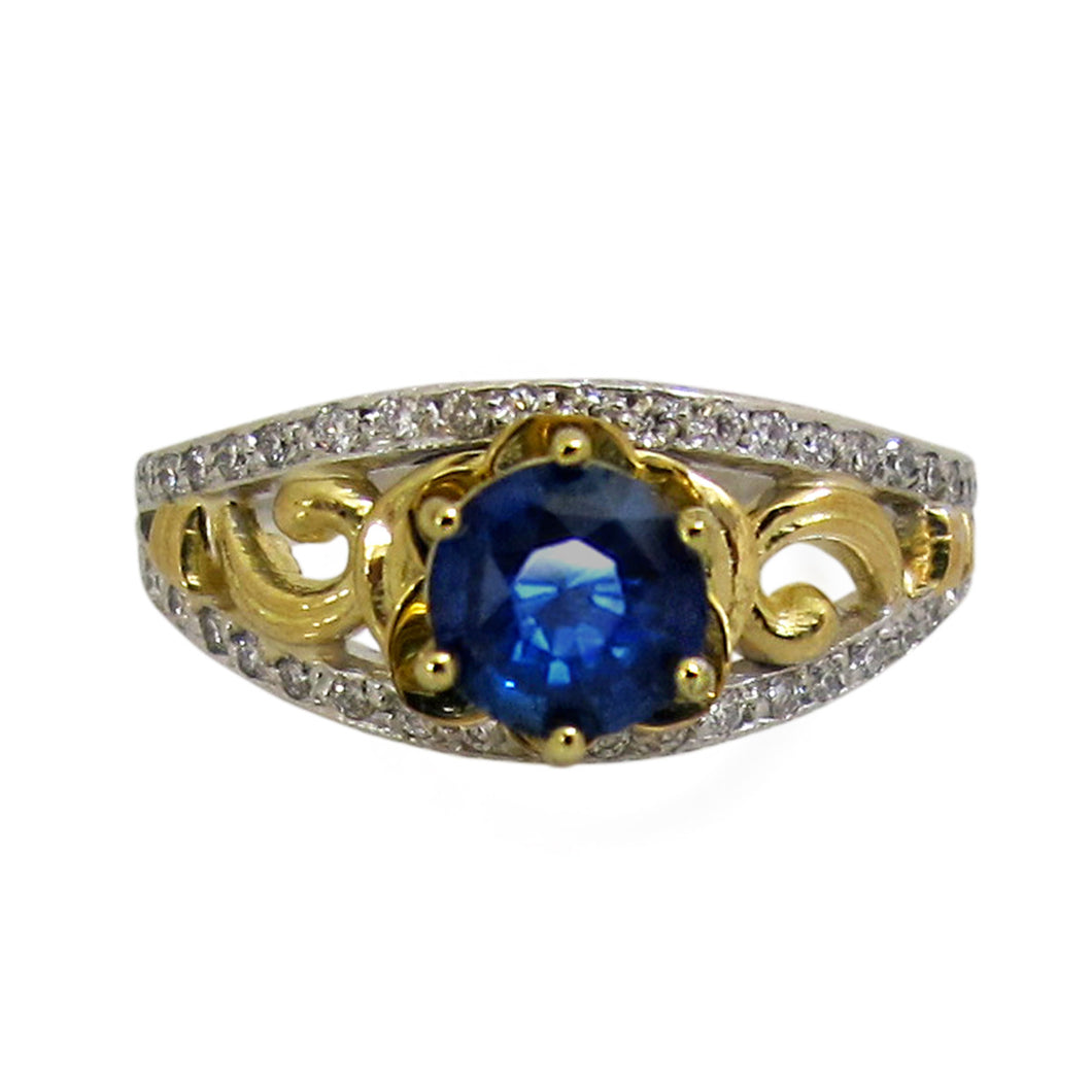 Enchanted Sapphire Ring