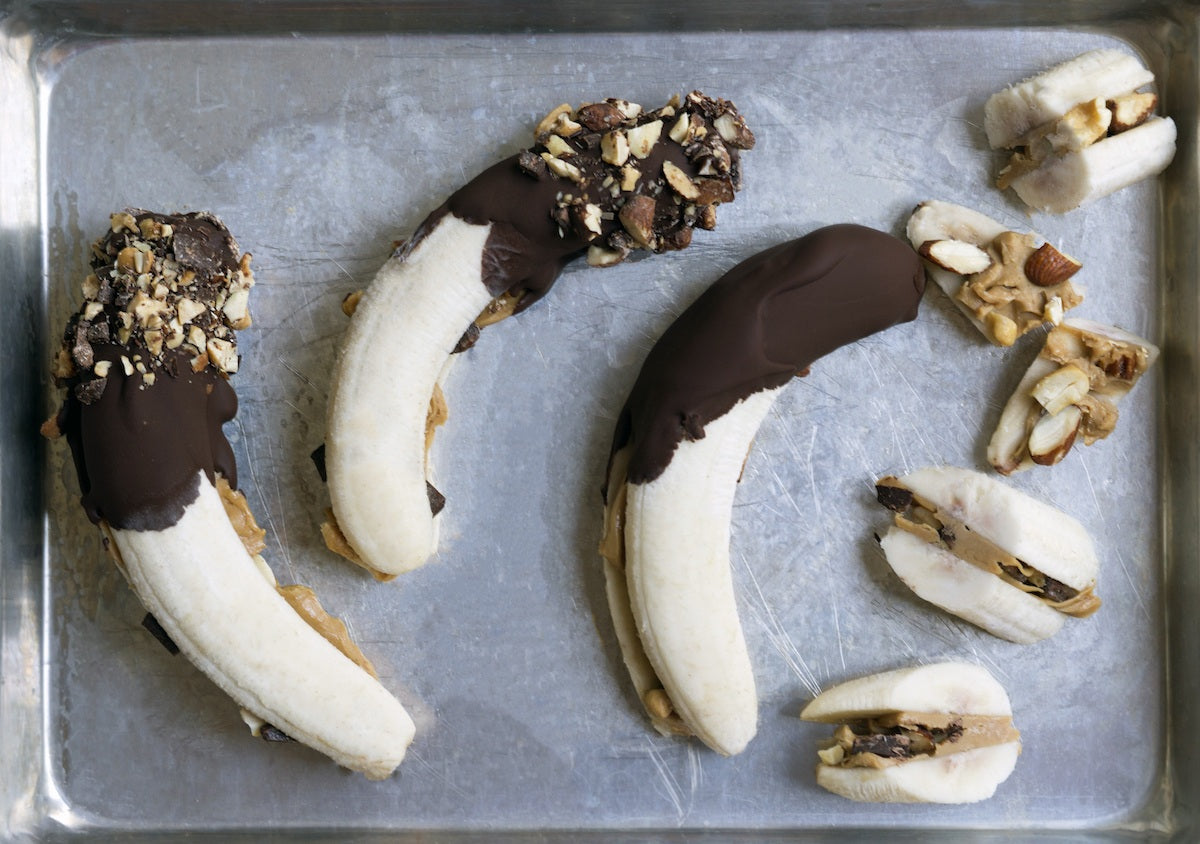 Second Nature Dark Chocolate Medley Banana Pops