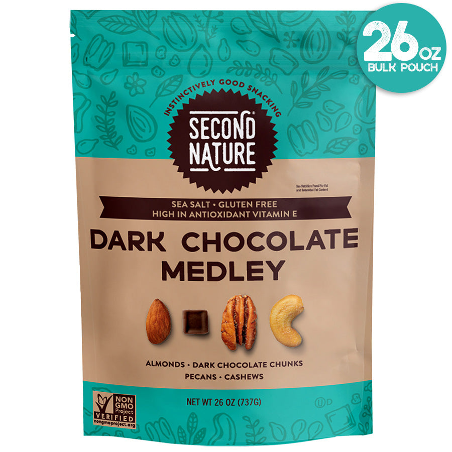 DARK CHOCOLATE MEDLEY 26oz POUCH