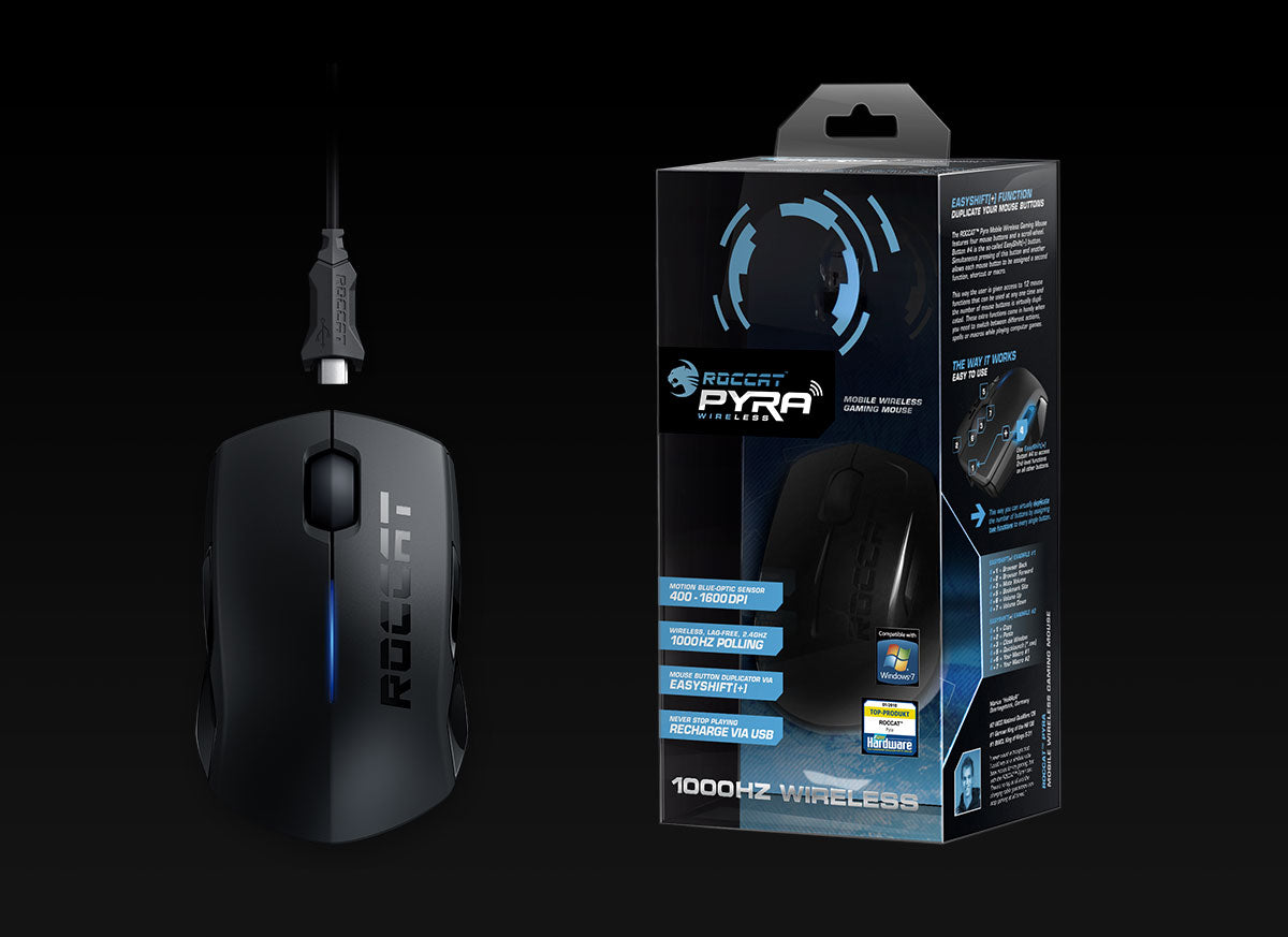 ROCCAT Pyra Wireless gaming mouse