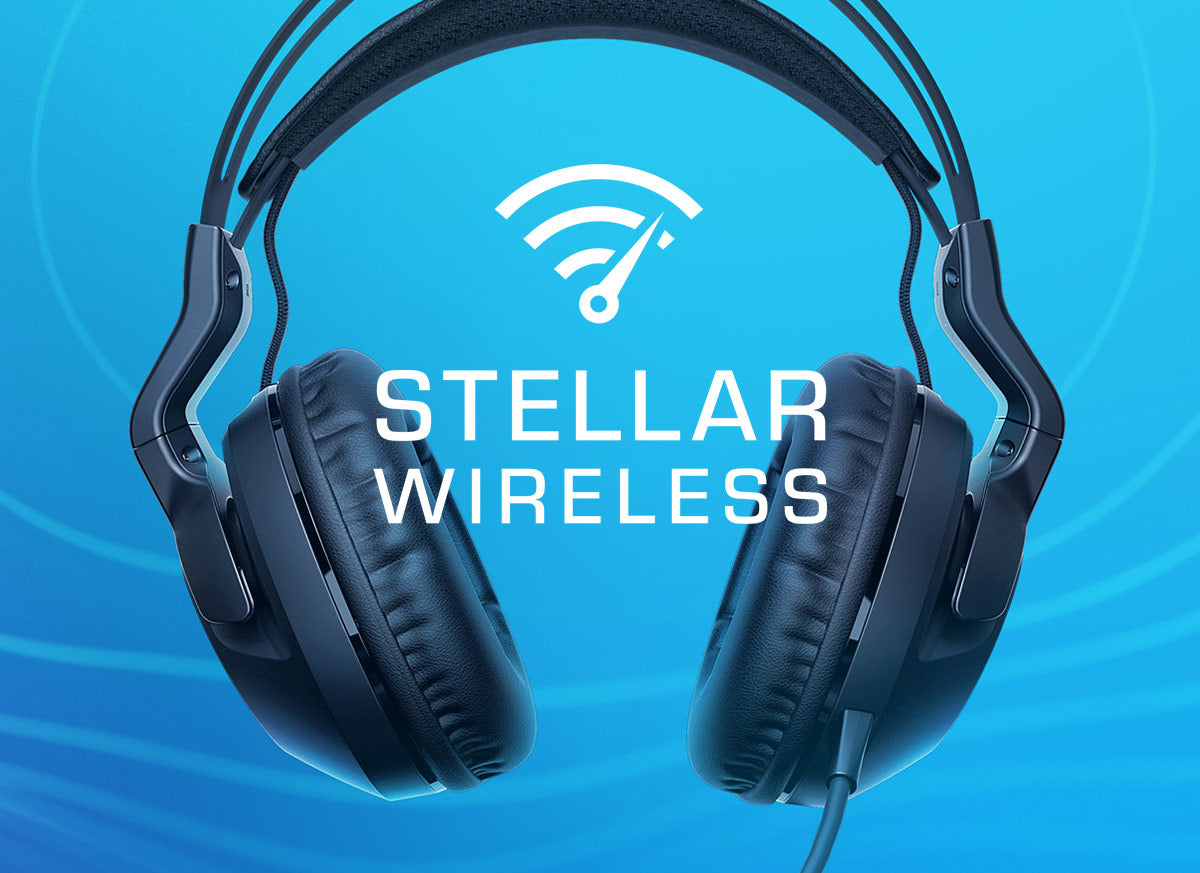 ROCCAT Stellar Wireless technology logo