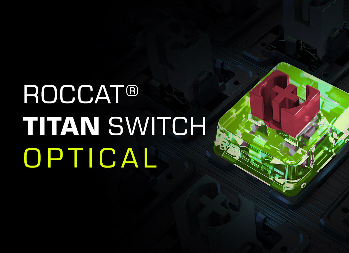 ROCCAT Titan Switch Optical for keyboards