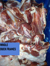 Load image into Gallery viewer, Duck Frames, Whole or Ground