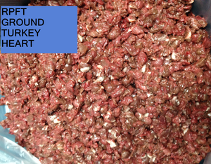 Turkey Heart, Whole or Ground