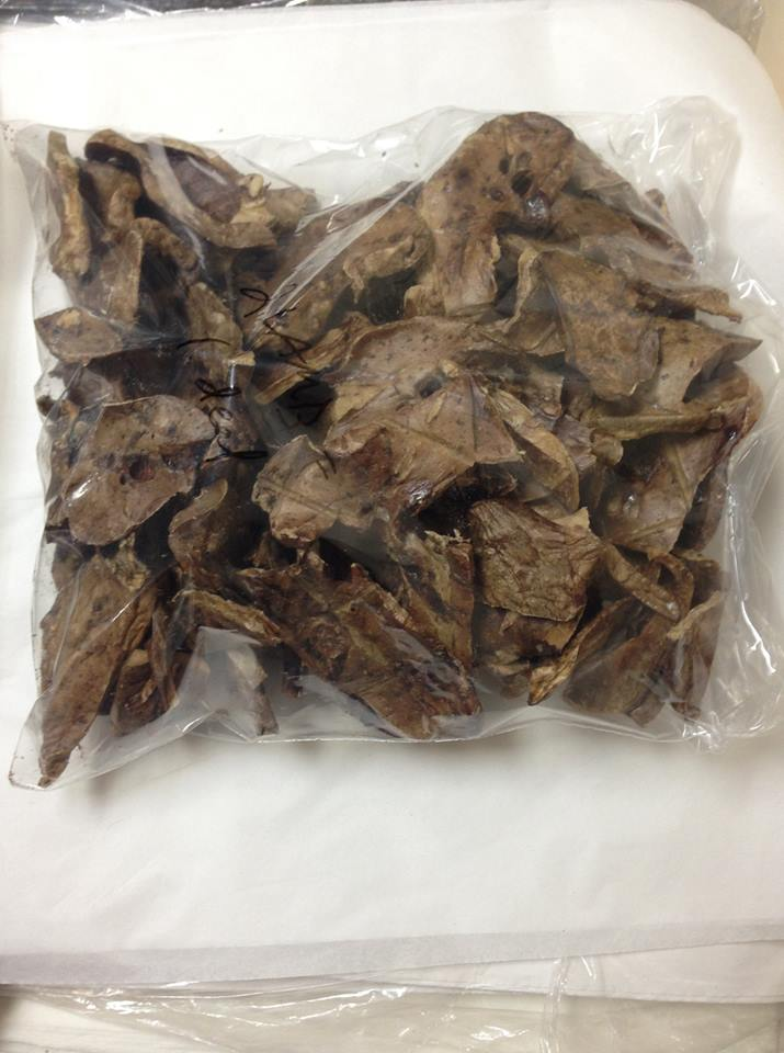 PET CANDY **Dehydrated Beef Lung, Treat