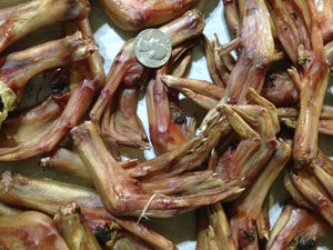 PET CANDY **Dehydrated Duck Feet, Treat