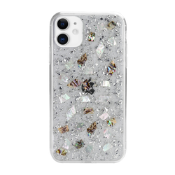 FLASH handmade genuine flowers silicon case for iPhone 11