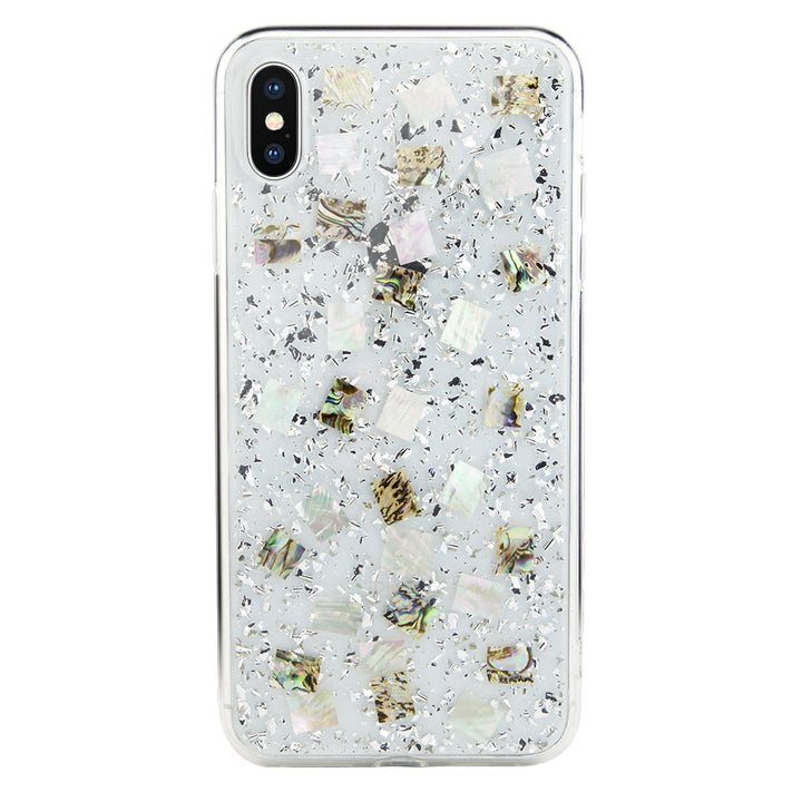 FLASH handmade genuine flowers silicon case for iPhone Xs Max