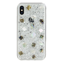 FLASH handmade genuine flowers silicon case for iPhone Xs