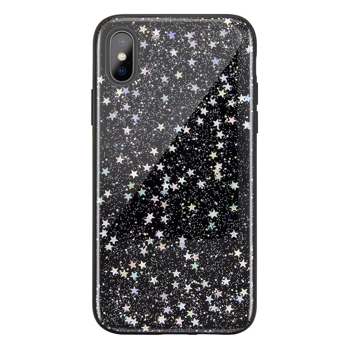 STARFIELD quicksand style case for iPhone Xs