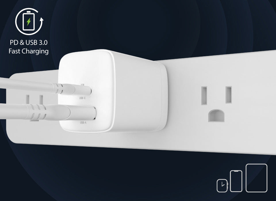 PB20W Charge 2 Devices