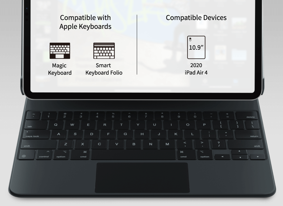 CoverBuddy Compatible with All Keyboards