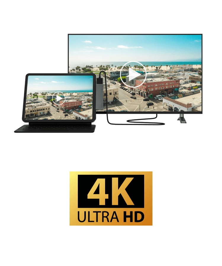 4K Resolution, Sharp and Detailed