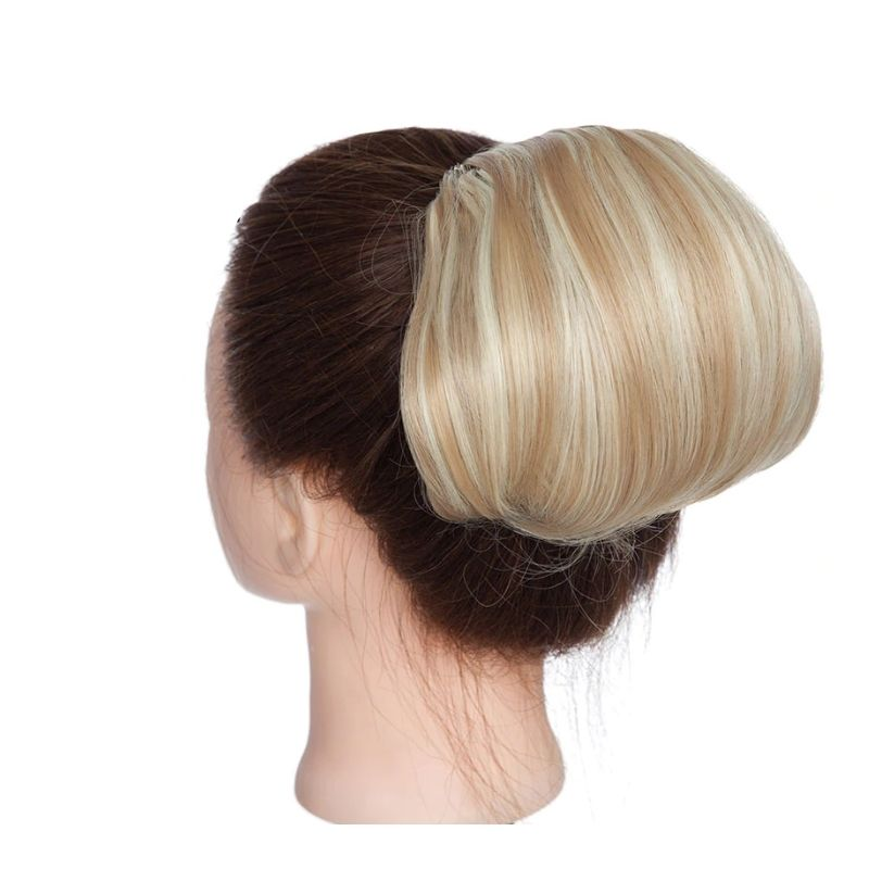 extension blonde pour chignon