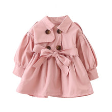 Load image into Gallery viewer, Baby Coat with Belt - 2 Colors