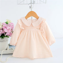 Load image into Gallery viewer, Baby Dress with Collar - 2 Colors
