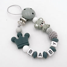 Lade das Bild in den Galerie-Viewer, Baby Pacifier Clips Koala - 6 colors