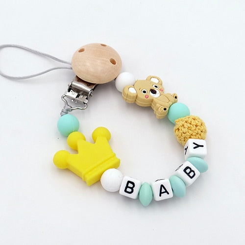 Baby Pacifier Clips Koala - 6 colors
