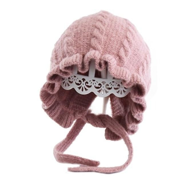 Baby Princess Knitted Hat - 9 colors