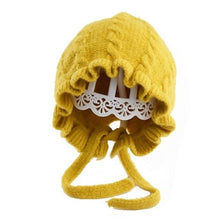 Load image into Gallery viewer, Baby Princess Knitted Hat - 9 colors