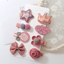 Load image into Gallery viewer, Hairclip Set - 8 pieces