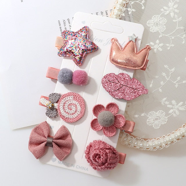 Hairclip Set - 8 pieces
