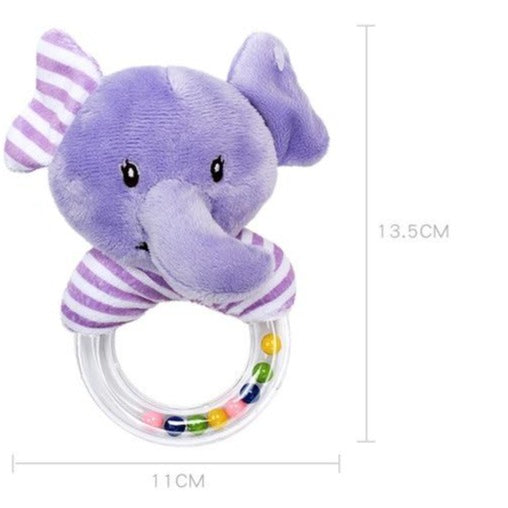 Animal Baby Rattles  - 5 Colors