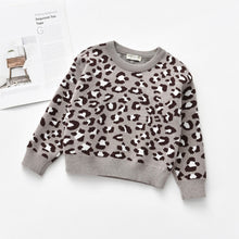 Charger l'image dans la galerie, Knitted Sweater Leopard