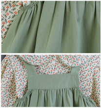Load image into Gallery viewer, Top and Dress - Green Floral