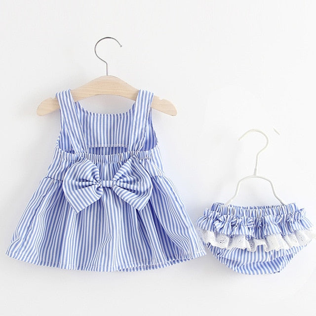 Baby Dress Set - 2 Colors