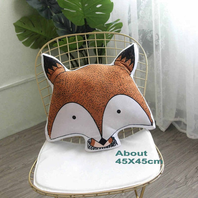 Printed Animal Cartoon Pillows