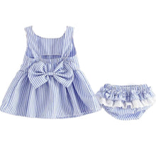 Load image into Gallery viewer, Baby Dress Set - 2 Colors