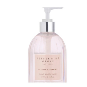 Freesia and Berries 500ml Hand and Body Wash