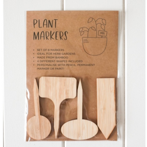 Plant Tags Mixed Pack Of 8