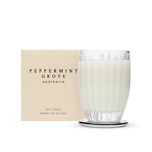 Burnt Fig and Pear 60gm Soy Candle
