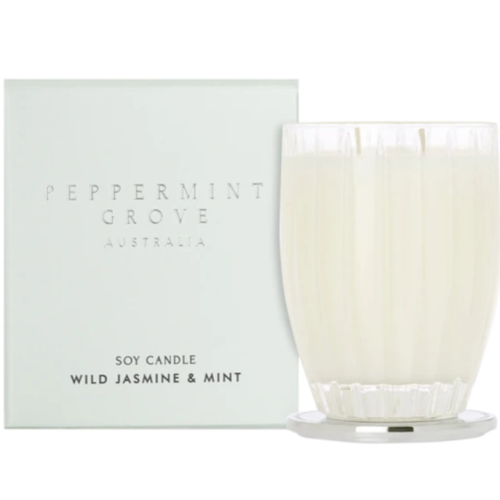 Wild Jasmine and Mint 60gm Soy Candle